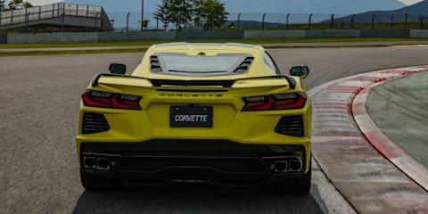 Right-hand-drive 2022 Chevrolet Corvette revealed in Japan