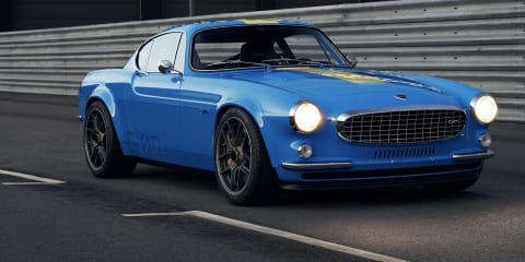 Volvo's Cyan Racing shows off reimagined P1800 classic