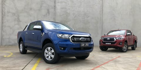 Why Toyota HiLux vs Ford Ranger is the new Commodore vs Falcon battle