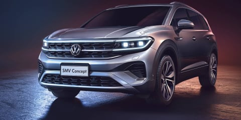 Volkswagen SMV concept unveiled at Shanghai motor show