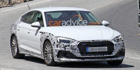 2020 Audi A5 Sportback spied again