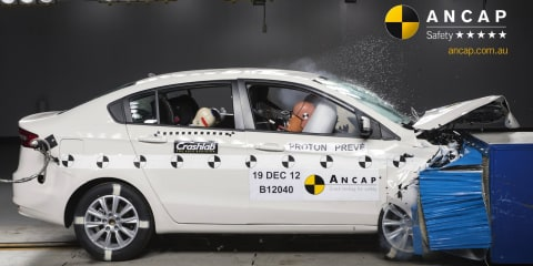 Proton Prevé earns brand's first ANCAP five-star safety rating