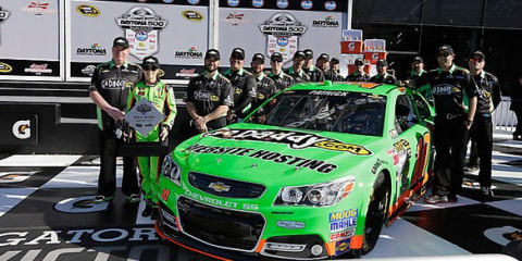 Danica Patrick claims historic NASCAR pole in Chevrolet SS