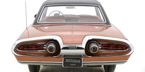 'Rare and bizarre' 1963 Chrysler Turbine concept sells to mystery buyer