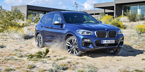 2018 BMW X3 sDrive20i pricing and specs