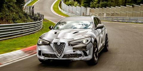 2018 Alfa Romeo Stelvio Quadrifoglio sets Nurburgring SUV record