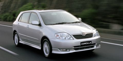 2002 TOYOTA COROLLA ULTIMA SECA Review