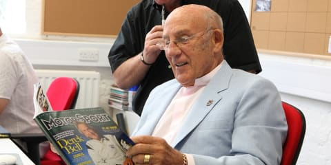 Stirling Moss starts a new job