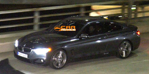 BMW 4 Series Coupe seen without camouflage