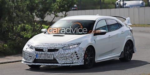 2019 Honda Civic Type R prototypes spied