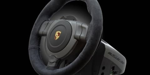 Fanatec Porsche GT2 gaming steering wheel