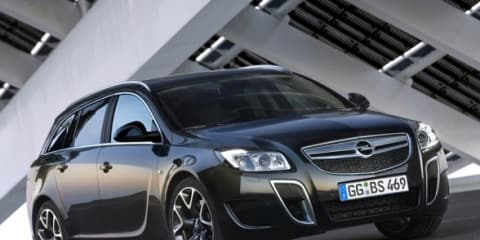 Opel Insignia OPC Sports Tourer video