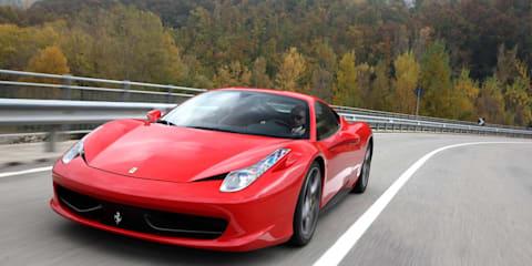 Ferrari 458 Italia local pricing and specifications announced