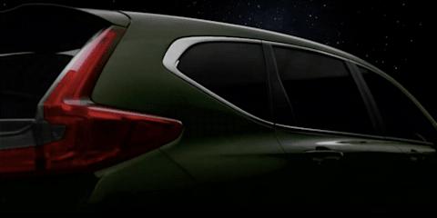 2017 Honda CR-V seven-seater teased in Thailand