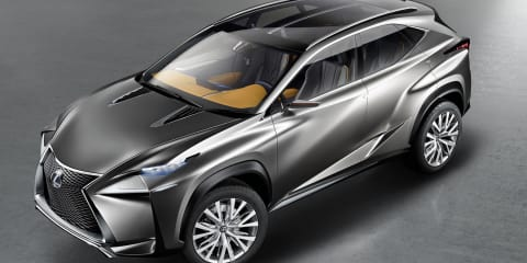 Lexus LF-NX concept: more images of future Q5, X3 rival