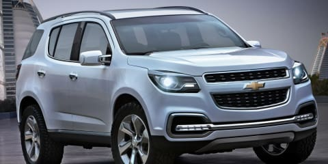 2013 Chevrolet TrailBlazer concept revealed