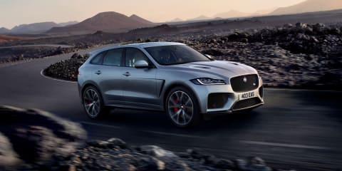 2019 Jaguar F-Pace SVR pricing and specs