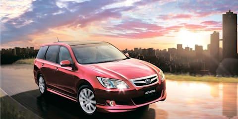 Subaru Exiga confirmed for Australia