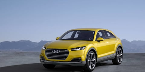 Audi TT Q crossover SUV firms for 2017