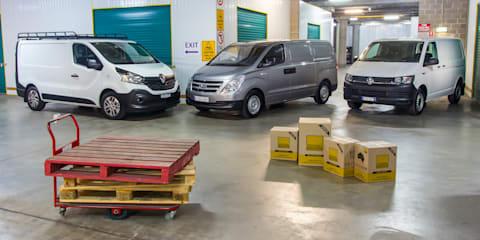 Van comparison: Hyundai iLoad v Renault Trafic v Volkswagen Transporter