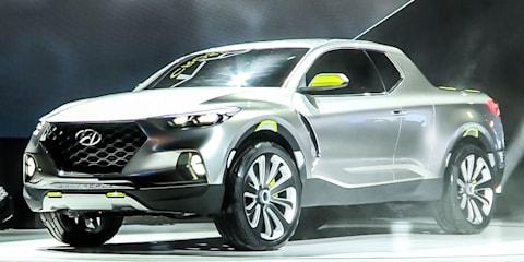 Hyundai Santa Cruz Ute Concept Reveal : NAIAS Detroit Motor Show 2015