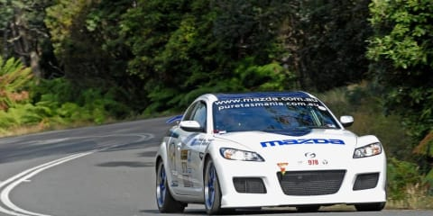 Mazda RX-8 SP set for Targa Tasmania return in 2010