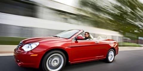Chrysler announces Sebring Cabrio pricing