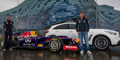 Sebastian Vettel hits planned Russian Formula One circuit