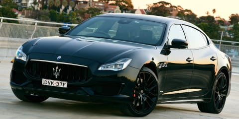 Maserati Quattroporte GTS Gransport Nerissimo Edition arrives from $371,990