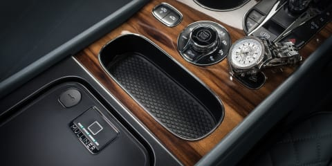 Bentley offers biometric lockbox in Bentayga