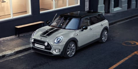 Mini Cooper Ice Blue and Clubman Masterpiece special editions coming