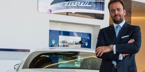 CarAdvice Q&A : Umberto Maria Cini, Maserati's managing director of General Overseas Markets
