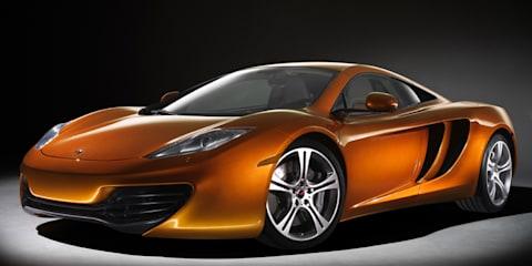 2011 McLaren MP4-12C revealed