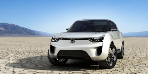 SsangYong XIV-2 concept previews new SUV family