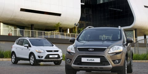 2012 Ford Kuga compact SUV here in March