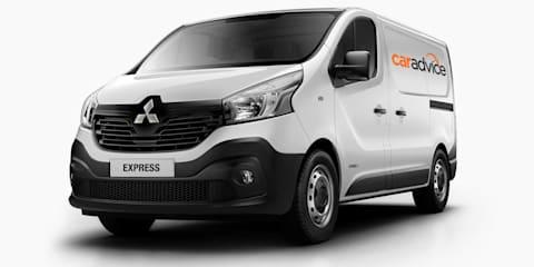 Mitsubishi Express reborn: Australian future for Renault Trafic-based van
