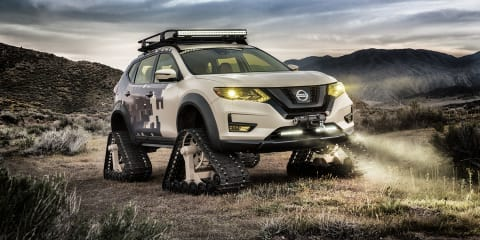 Nissan Rogue Trail Warrior revealed for New York