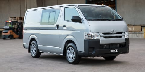 2016 Toyota HiAce update for Australia brings Euro 5 diesel upgrade