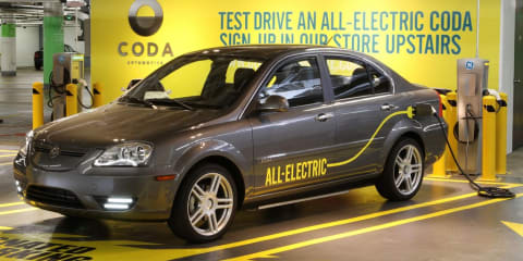 Coda Automotive begins delivery of electric cars