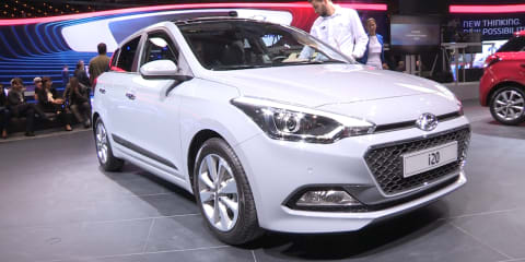 2015 Hyundai i20 - First look