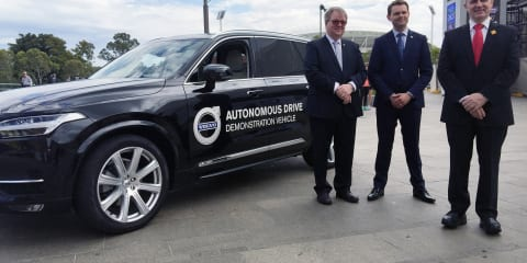 Autonomous Volvo XC90 rolls into Adelaide for Australian Driverless Vehicle Initiative
