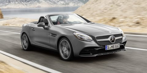 2017 Mercedes-Benz SLC:: circa $70,000 starting price for Australia
