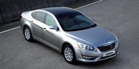 Kia Cadenza luxury sedan to be unveiled next month
