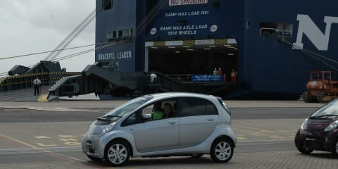 Mitsubishi i-MiEV - Mitsubishi Electric Car lands in Australia
