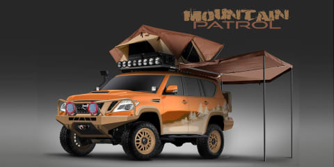 Nissan Armada Mountain Patrol revealed