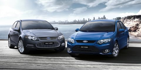 Large cars: March 2013 sales overview