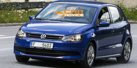 2014 Volkswagen Polo: spy shots reveal subtle facelift
