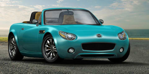 2013 Mazda MX-5 revealed in patent drawings, rendering