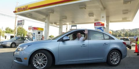 Australian hypermilers aim to set fuel economy record across 48 US states
