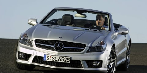 2012 Mercedes-Benz SL to drop V12 engine